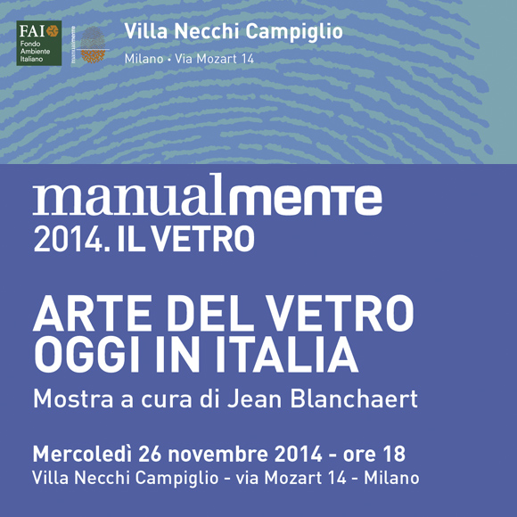 ARTE DEL VETRO OGGI IN ITALIA 2014