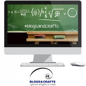 BLOGS & CRAFTS. Concorso dedicato a giovani artigiani e il web.
